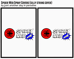 larissa spider man spider spray cover printable