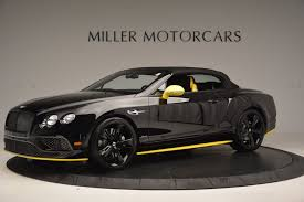 bentley black matte 2017 bentley continental gt speed black edition convertible stock