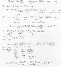 ap chem homework