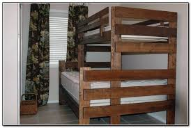 Twin Over Full Bunk Bed Plans Twin Over Queen Bunk Bed Plans Beds - Full over full bunk bed plans