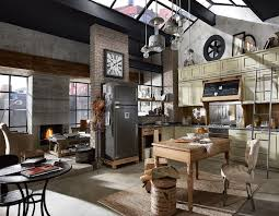 kitchen style awesome modern industrial kitchen with a sparkle of