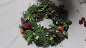 how to make a christmas wreath from a wire hanger youtube