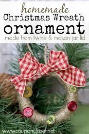 12 days of ornaments jar ring wreath day