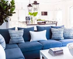 living room coastal living rooms decorating blue sofa room