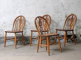 Ercol Dining Chair Vintage Ercol Dining Chairs Sold Scaramanga