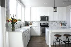 Carrara Marble Subway Tile Kitchen Backsplash Marble Kitchen Backsplash Northere Club