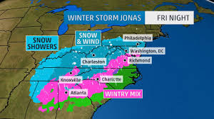 Virginia Power Outage Map by 5 New Developments About Winter Storm Jonas The Weather Channel