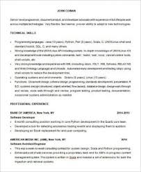 Programmer Resume Example by Baffling Resume Objective Statement Examples