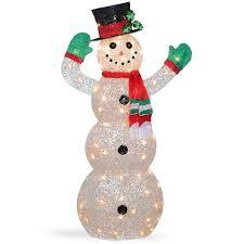 large outdoor snowman wayfair