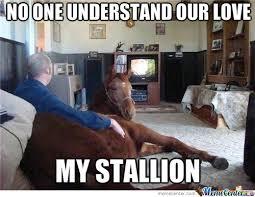 I Love My Man Memes - one man one horse wait wut by fudge packer meme center