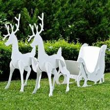 Outdoor Reindeer Decorations Free Patterns For Outside Decorations Ryobi Nation Projects