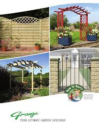 grange fencing garden products brochure pdf lumber framing