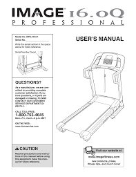 image 16 0 q treadmill imtl4153 1 user manual 30 pages