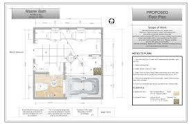 Floor Layout Plans Delighful Master Bathroom Floor Plans Layout In A Magazine And