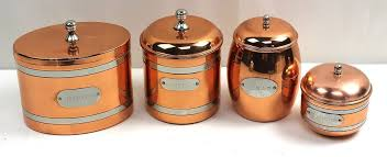 copper kitchen canister sets vintage dorre swedish copper kitchen canister set sugar cookies