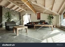 interior new loft ethnic furniture livingroom stock photo 93405136