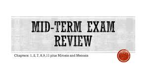chapters 1 2 7 8 9 11 plus mitosis and meiosis ppt download