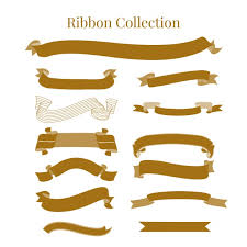 decorative ribbons decorative ribbons collection vector free