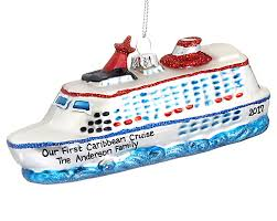 Cruise Ornament Cruise Ship On The Water Personalized Ornament