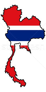 thailand vector map map in colors of thailand vector illustration oleksandr