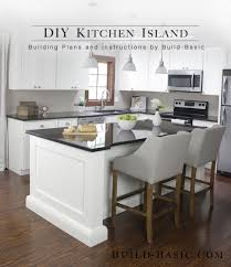 easy kitchen island plans build a diy kitchen island build basic