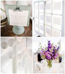 Purple Centerpieces Modern Jewish Purple U0026 White Wedding Modern Jewish Wedding