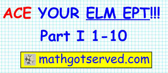 elm eap ept math test practice questions part i 1 10 youtube