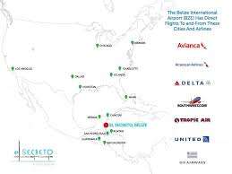 Atlanta Airport Map Delta by Your Way To Paradise El Secreto Hotel In San Pedro Belize