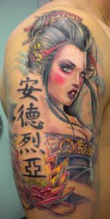 30 stunning japanese geisha tattoos ideas