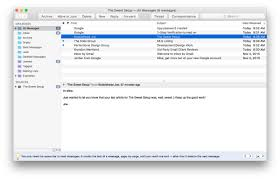 best email app for mac airmail u2014 the sweet setup