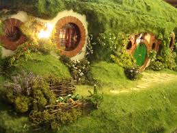 my hand made hobbit hole bag end from lord of the rings bilbo