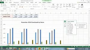 project 3 office 2013 excel chapter 3 visualizing data youtube