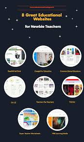 8 great educational websites for newbie teachers educational