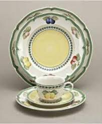 villeroy boch dinnerware garden dinner plate