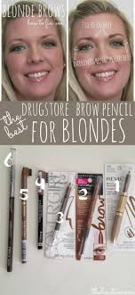revlon brow fantasy light brown makeup tips best drugstore brow pencil for blondes the how to mom