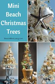 the most marvellous mini beach christmas trees by tree decorator