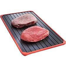 plateau de cuisine plateau de décongélation parent il décongèle les aliments en