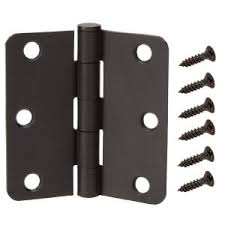 Design House 202556 Door Hardware Hinges by Everbilt 4 In X 1 4 In Radius Oil Rubbed Bronze Adjustable