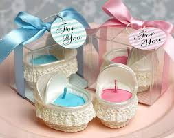 baptism party favors ivory bassinet basket cradle shaped smookless candle baby shower