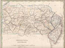 Pennsylvania Railroad Map by 1840 U0027s Pennsylvania Maps