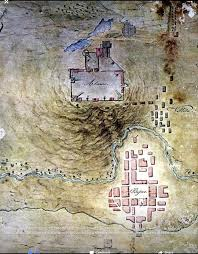 San Antonio Tx Map Topo Map Made By A Mexican Army Engineer The Alamo Pinterest
