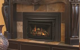 interior archaic home interior decoration using fireplace insert