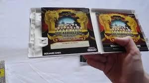 Curtain Call Tracklist Unboxing Theatrhythm Final Fantasy Curtain Call Limited