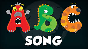 famous halloween monsters learn abc u0027s with monster alphabet song halloween abc songs for