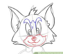 draw tom tom jerry 14 steps pictures