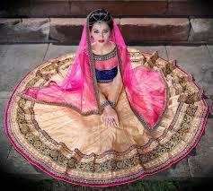 color designer golden wedding lenghas buy online mauritius gold color a line lehenga