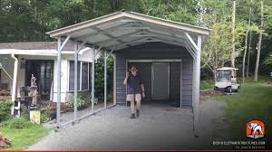 Open Carport by Metal Carports For Sale Get Prices On Custom Steel Carport Kits