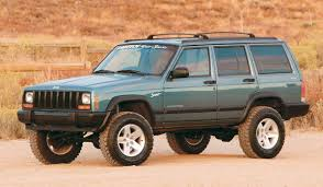 1989 jeep wagoneer lifted fabtech 4 u0027 u0027 performance system w performance shocks for 84 01 jeep
