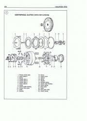 chinese atv repair shop manual clutch diagram exploded views