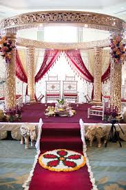 Bengali Mandap Decorations Oriental Wedding Bengali Chinese Wedding Ideas 2072498 Weddbook